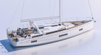 OCEANIS YACHT 54, new sailing yacht from Beneteau